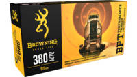 BROWNING 380 AUTO 95 Grain FMJ 50 Rounds [B1918038