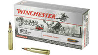 Win Ammo deer season xp .223 64 Grain extreme poin