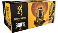 Browning Ammo Training & Practice 380 ACP 95 G