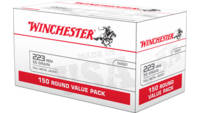 Winchester Ammo USA 223 Remington 55 Grain FMJ 150