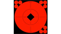 Birchwood Casey Target Spots 6in Red Bullseye w/Pa