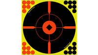 "B/c target shoot-n-c 12"" crosshair bull's-eye 5 ta"