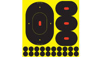 "B/c target shoot-n-c assorted silhoutte 9""-5 4.75"""