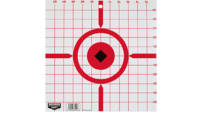 "B/c target rigid paper 12"" crosshair sight-in 10 t"