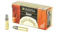 Fed Ammo gold medal .22 lr 1080 40 Grain lead-rn 5