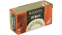 Fed Ammo gold medal .22 lr 1200 40 Grain lead-rn 5