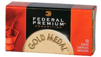 Federal Rimfire Ammo Gold Medal .22 Long Rifle (LR