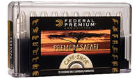 Federal Ammo Cape-Shok 500 Nitro Express Swift A-F