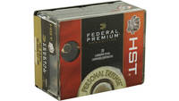Federal Ammo Defense 40 S&W HST 180 Grain 20 Round