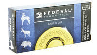Federal Ammo Power-Shok 243 Winchester SP 100 Grai