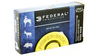 Federal Ammo Power-Shok 6mm Remington SP 100 Grain