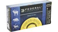 Federal Ammo Power-Shok 7mm Magnum SP 175 Grain 20
