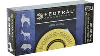 Federal Ammo Power-Shok 30-30 Winchester SP RN 170
