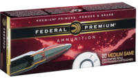 Federal Ammo Vital-Shok 6mm Remington 100 Grain No