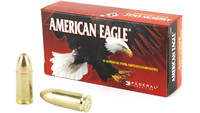 Federal Ammo American Eagle 9mm FMJ 124 Grain 50 R