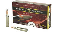 Federal Ammo Vital-Shok 7mm-08 Remington Nosler Pa