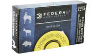 Federal Ammo Power-Shok 6.5x55mm SP 140 Grain 20 R