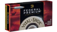 Federal Premium 338 RUM 210 Grain Nosler Partition