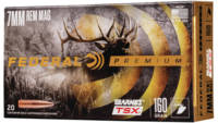 Federal Ammo 7mm Magnum 160 Grain Barnes Triple-Sh