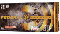 Federal Ammo 243 Winchester 85 Grain Barnes Triple