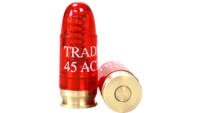 Traditions Dummy Ammo Snap Caps .45 ACP Plastic w/