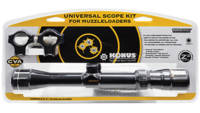CVA Rifle Scope Universal 3-9x32mm Obj FOV 1in Tub