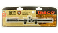 Tasco Rifle Scope Rimfire 4x15mm Obj 20.5ft@100yds