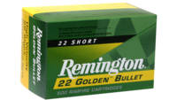 Rem Ammo .22 short 50 Rounds high velocity 29 Grai