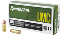 Rem Ammo umc 9mm luger 124 Grain fmj 50 Rounds [23