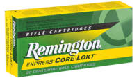 Remington Ammo Core-Lokt 6.5x55mm PSP 140 Grain 20