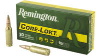Remington Ammo Core-Lokt 300 WSM Core-Lokt PSP 165