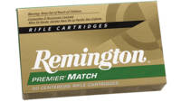 Remington Ammo 223 Rem (5.56 NATO) BTHP Match 77 G