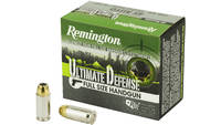 Rem Ammo hd home defense 45acp 230 Grain bjhp 20 R
