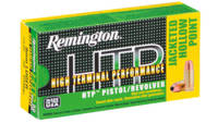 Remington Ammo HTP 38 Special+P 110 Grain Semi JHP