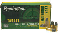 Remington Ammo TAR 38 Short Colt LRN 125 Grain 50