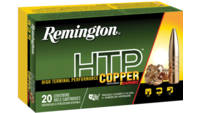 Remington Ammo HTP Copper 6.5 Creedmoor 120 Grain