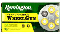 Remington Ammo WheelGun 32 S&W 88 Grain LRN 50