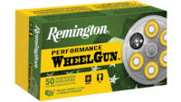 Remington Ammo WheelGun 38 Short Colt 125 Grain LR