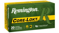 Remington Ammo Core-Lokt 6mm Creedmoor 100 Grain C