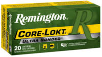 Remington Ammo Core-Lokt 223 Rem (5.56 NATO) 62 Gr