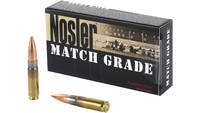 Nosler Ammo Match 300 Blackout 220 Grain Custom 20