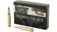 Nosler Ammo Trophy 270 Winchester 130 Grain AccuBo