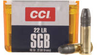 CCI Rimfire Ammo Small Game .22 Long Rifle (LR) Sm