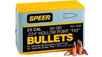 Speer Reloading Bullets 22 Caliber .224 52 Grain V