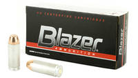 CCI Ammo Blazer 10mm TMJ 200 Grain 50 Rounds [3597