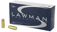 Speer Ammo Lawman 40 S&W 180 Grain Total Metal Jac