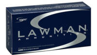 Speer Ammo Lawman Clean Fire 357 Sig 125 Grain Tot