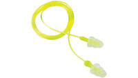 3M Peltor Tri-Flange Reusable Earplugs 26 dB Yello