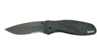Kershaw Knife Blur Black Serrated [1670BLKST]