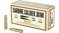 HORNADY 30 CARBINE 110 Grain FMJ 50 Rounds [8102]